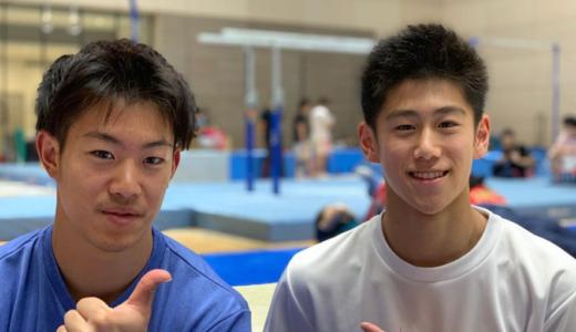 橋本大輝(体操)の得意技は?出身中学はクラブ、身長などプロフィール