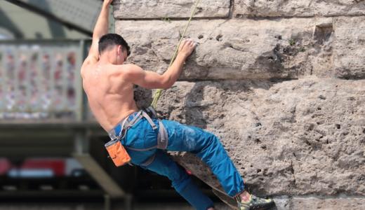 楢崎智亜の筋肉と肩甲骨の謎に迫る!トレーニング方法やプロフィール