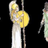 ギリシャ採火式の美人すぎる巫女は誰?聖火ランナーコラカキ選手とは?
